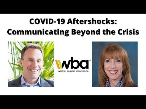 COVID-19 Aftershocks: Communicating Beyond the Crisis
