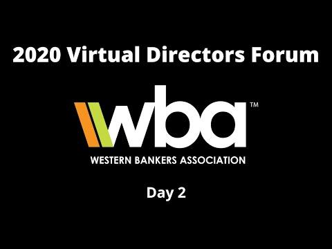 2020 Virtual Directors Forum – Day 2